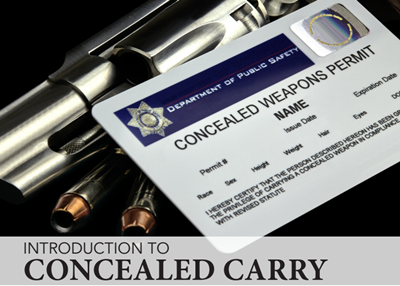 Introduction to concealed carry