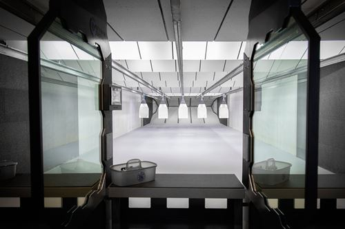 Accuracy Firearms indoor shooting range